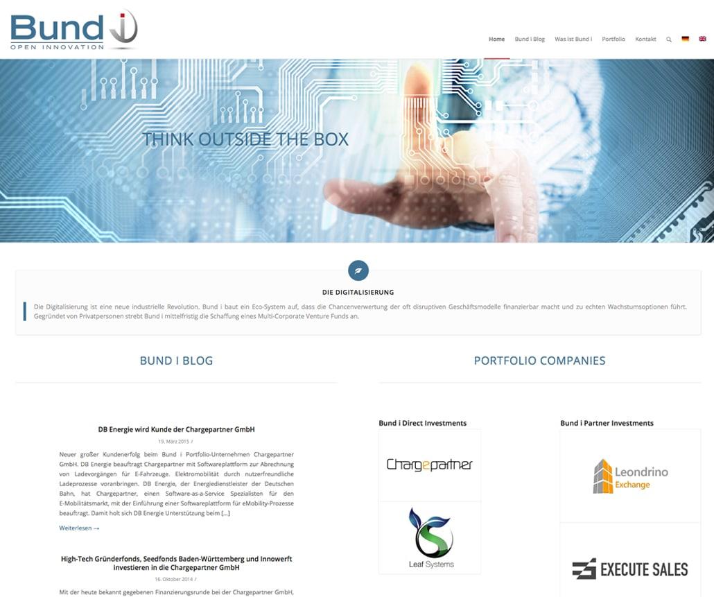 Webdesign, Bund i open innovation