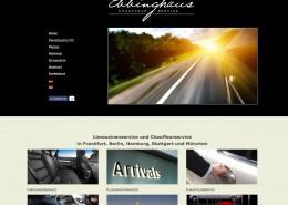 Webseite Ebbinghaus Chauffeurservice