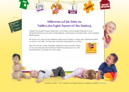 Webseite Toddlers Daycare