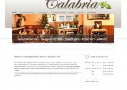 Webseite Trattoria Pizzeria Calabria Mörfelden-Walldorf