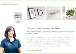 Webseite Dr. med. Uta Scheerbaum