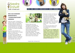 Webseite Sandra Imhoff