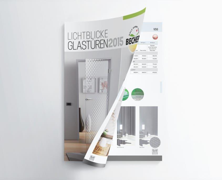 Glastürenkatalog, Becher GmbH & Co. KG