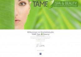 Kosmetiksalon TAME Spa & Beauty