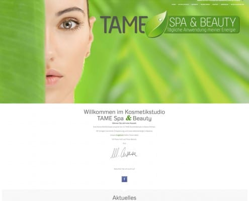 Kosmetiksalon TAME Spa & Beauty