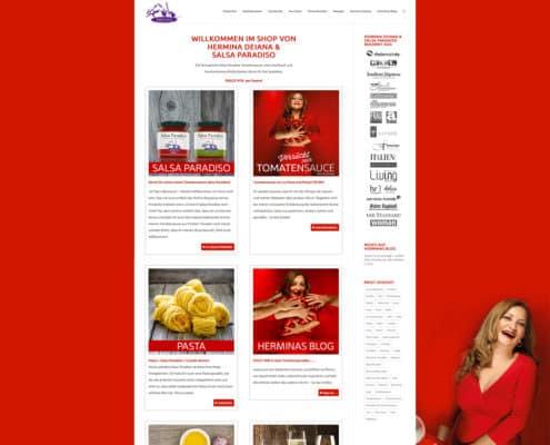 Onlineshop Hermina Deiana, Salsa Paradiso Tomatensauce