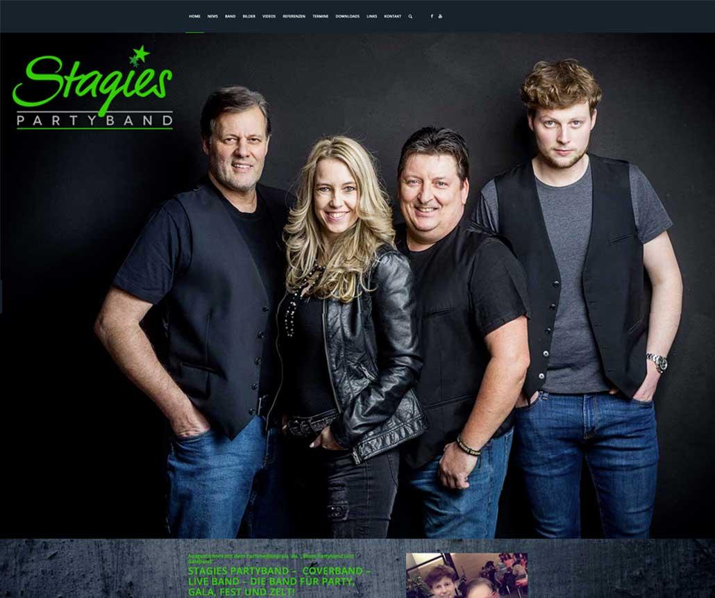 Webseite Stagebreaker.de